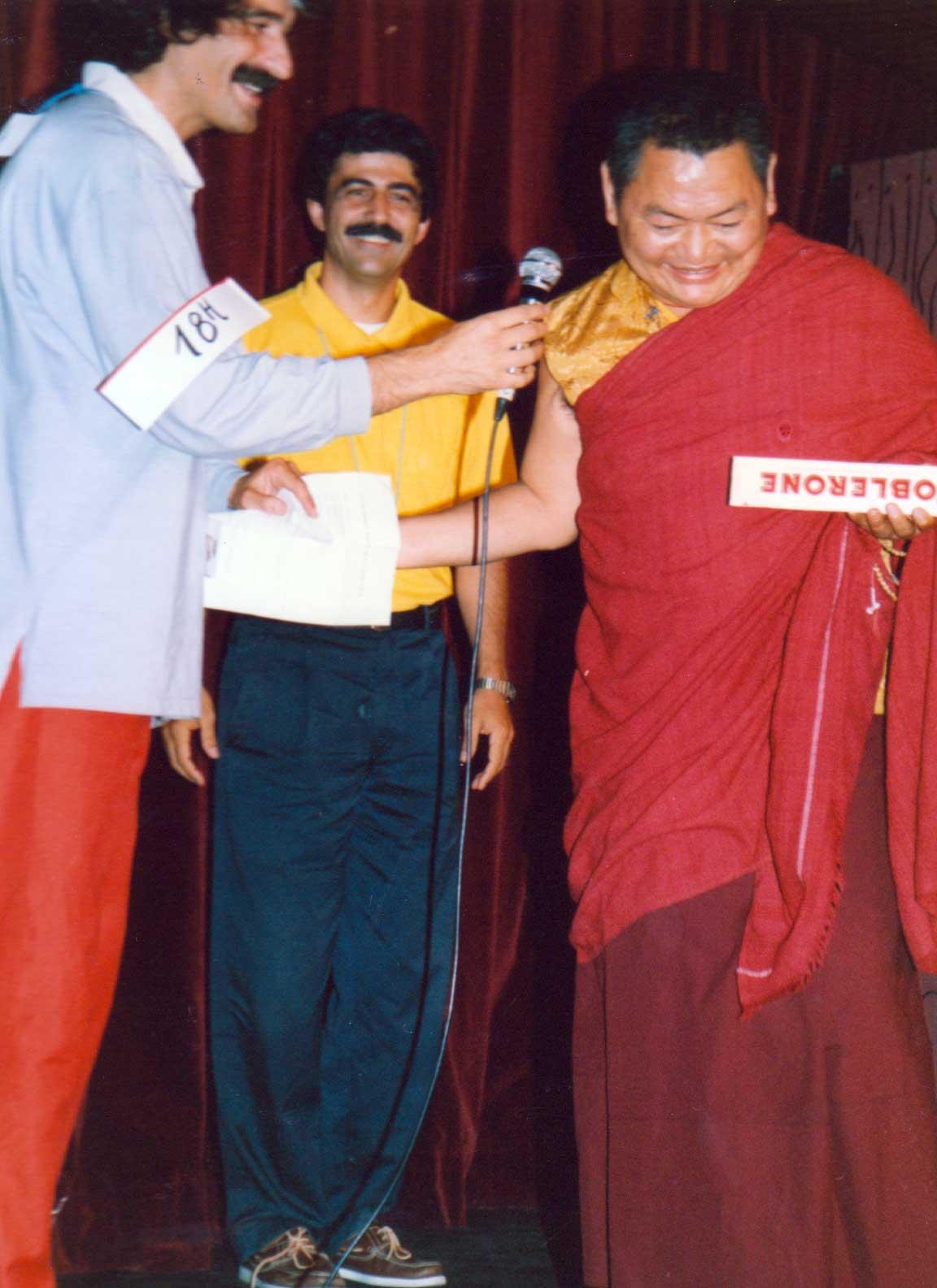 1984 Carlos, Moiz y Lama Sherab